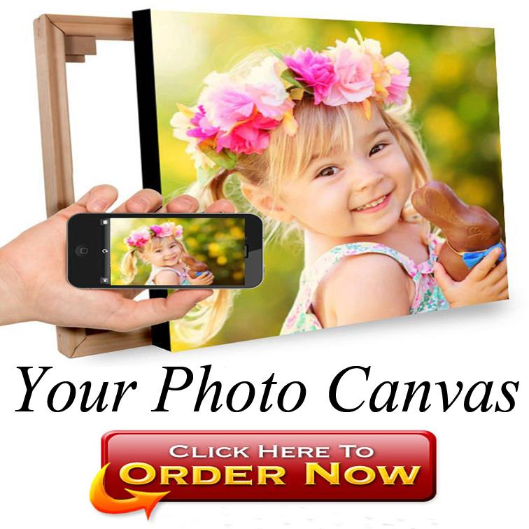 square rectangle panoramic and personalised my photo canvas